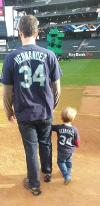 """Running"" the bases at Safeco"